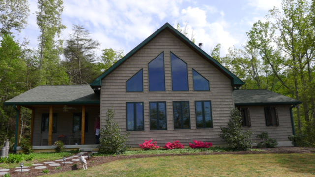 When talking about us, we need to include our timber frame home in Virginia