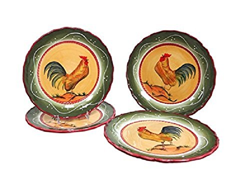 ACK Tuscany Province Rooster dinnerware