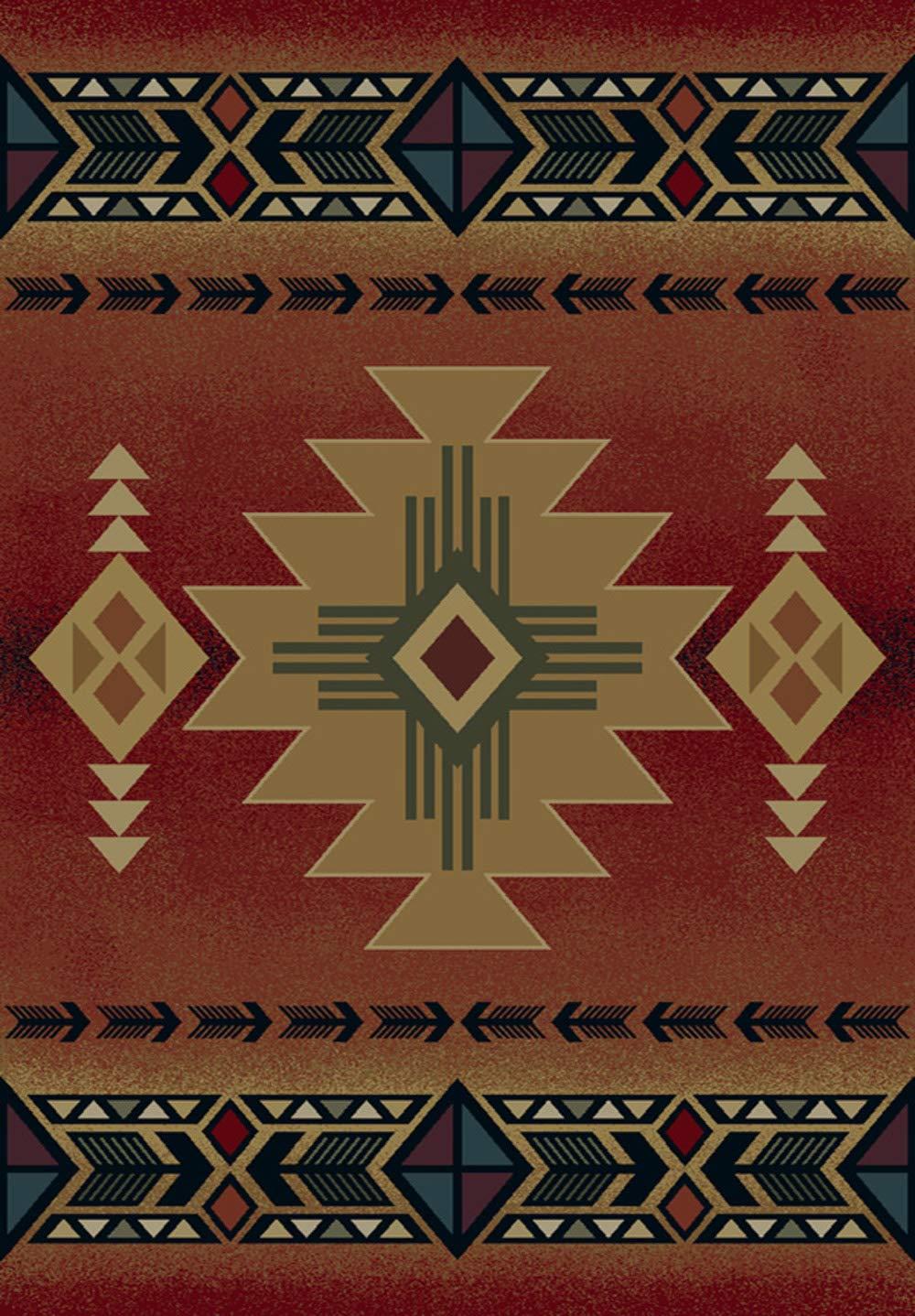 United Weavers Arizona Crimson Rug Everything Log Homes