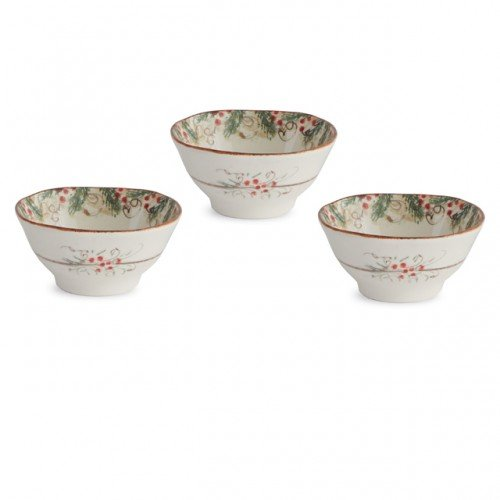 Arte Italica Natale Dipping bowls