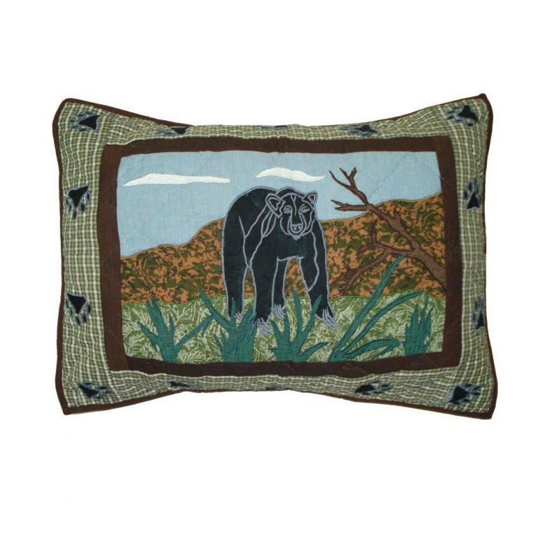 Patch Magic Bear Country pillow sham