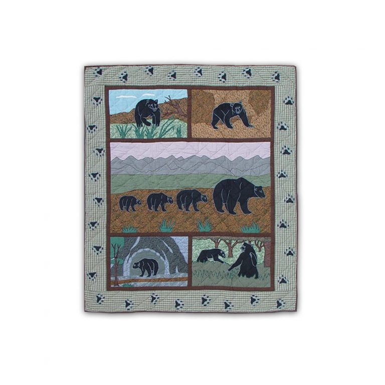 Patch Magic Bear Country throw