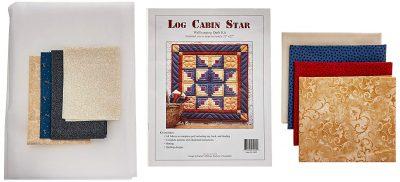 cabin star quilt kit