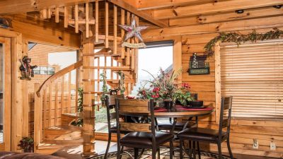 Log home with character