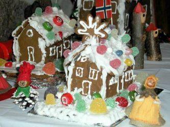 kids' gingerbread house