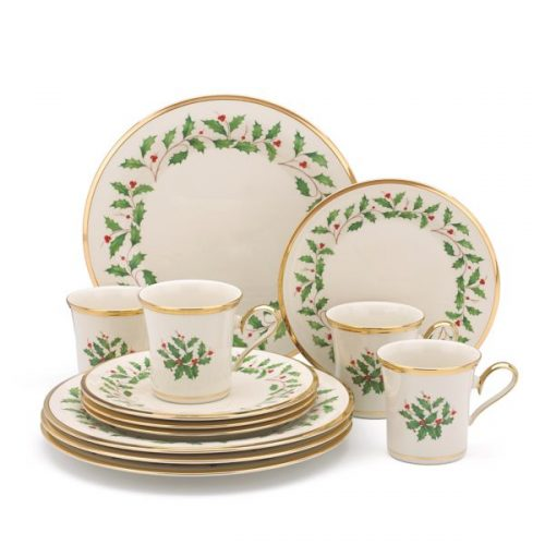Lenox 12 piece holiday dinnerware