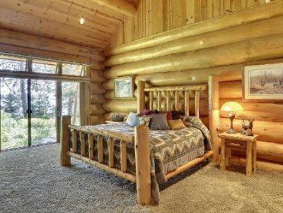 Log cabin quilt design