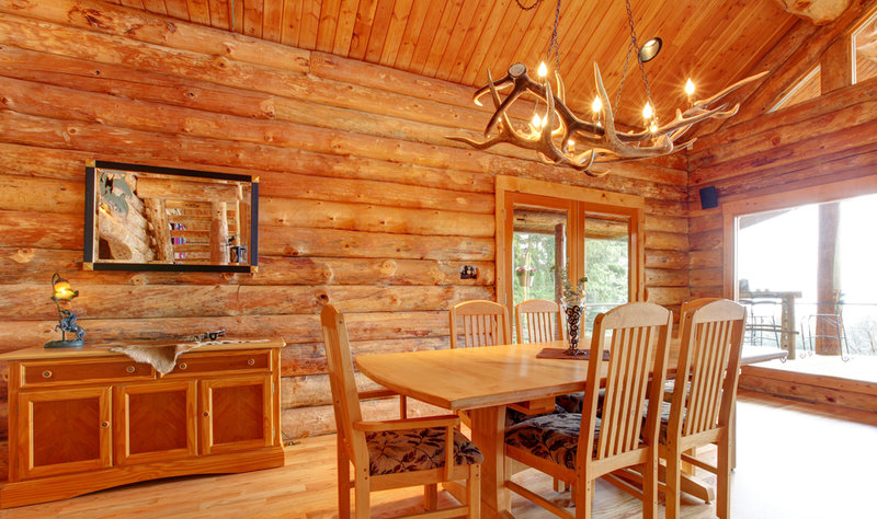 Decorative Lighting For Log And Timber Homes Everything