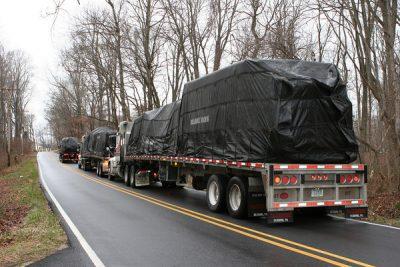 Log kit on truck