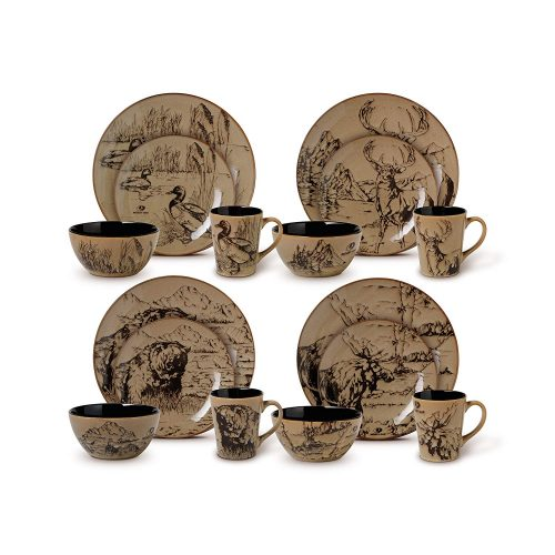 Mossy Oak breakup infinity dinnerware