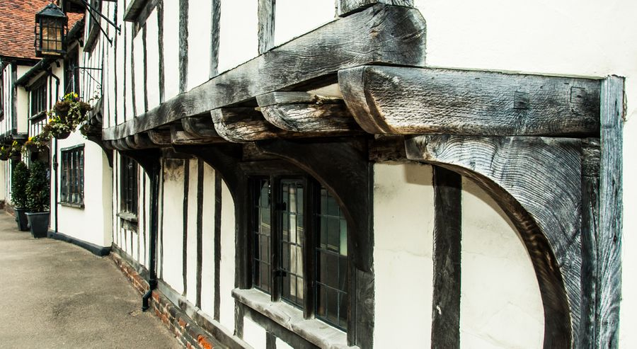Historic Timber Frame House