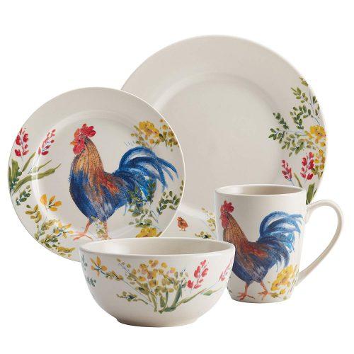 Paula Deen Southern Rooster dinnerware