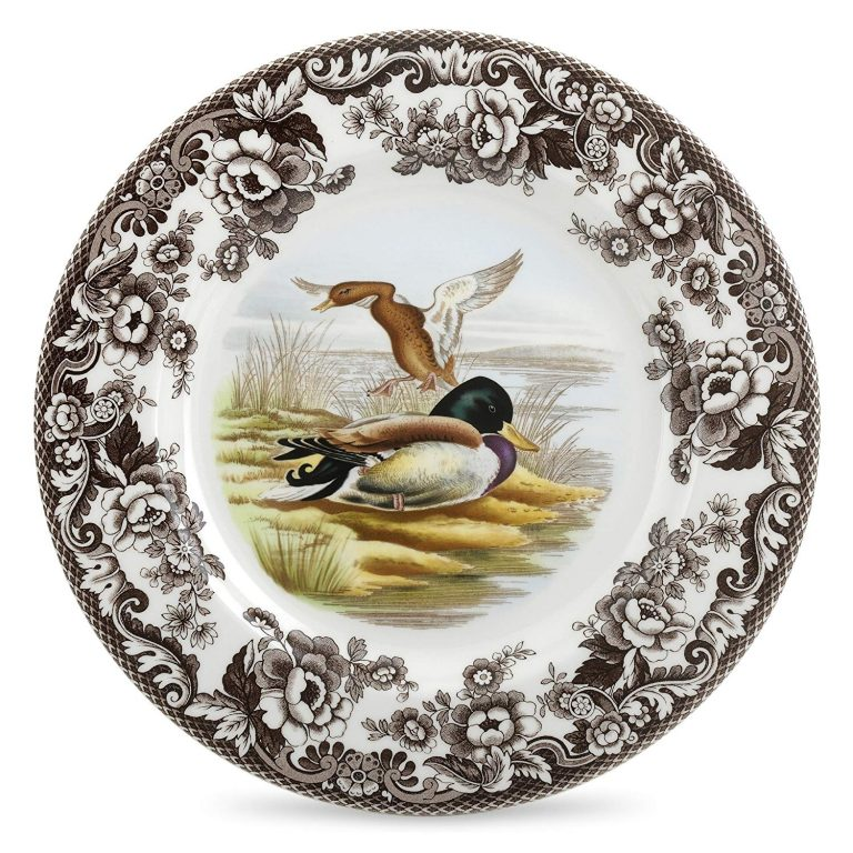 Plate withducks from the Spode Woodland Collection