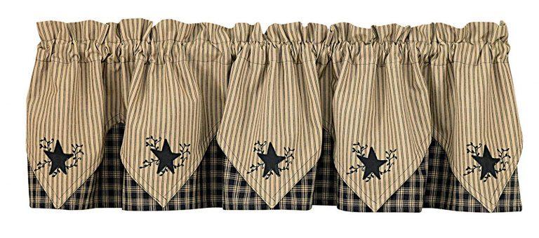 Sturbridge navy plaid curtains