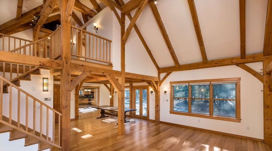 Timber Frame Home with SIPs