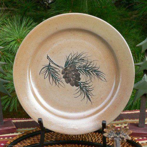 Woolrich Northwoods Pinecone Dinnerware