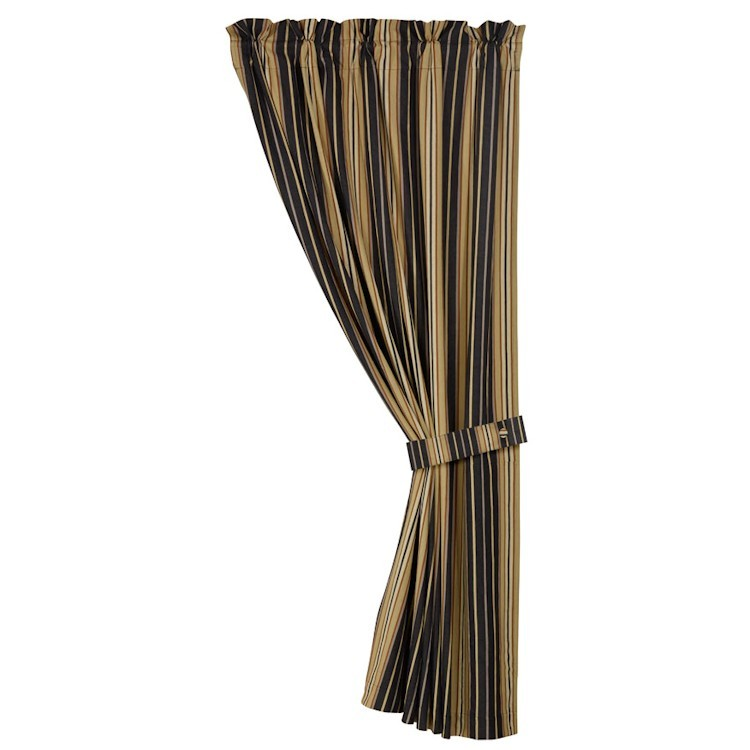 Ashbury vertical stripe curtain panel