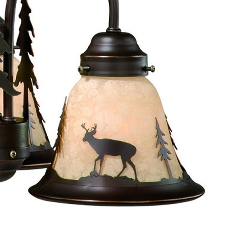 Bryce Deer mini chandelier with 3 lights