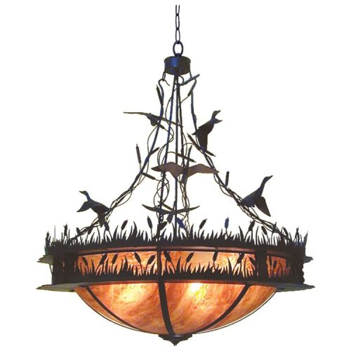 2nd Ave Ducks in Flight pendant light