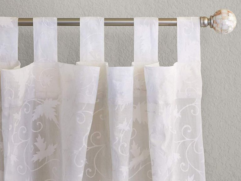 Handcrafted ivy lace sher curtains