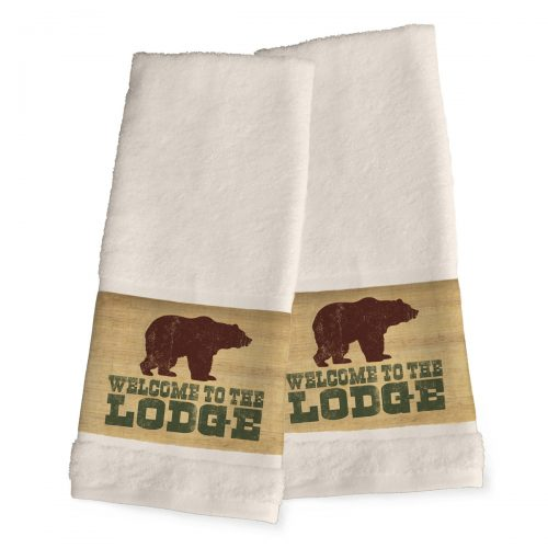 Lodge Lifestyle hand towels