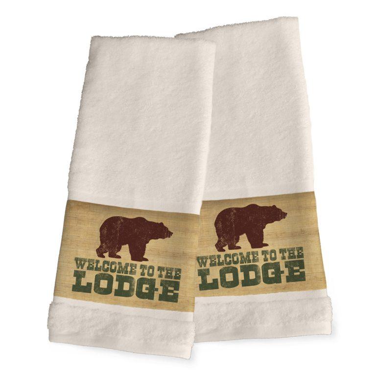 Lodge Lifestyle hand towels