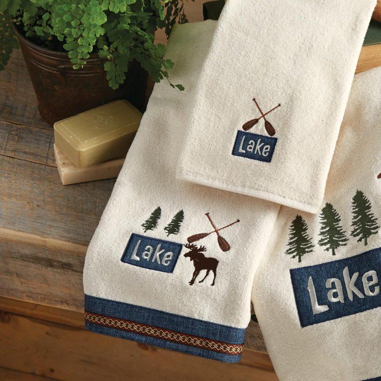 Moose Lake hand towel