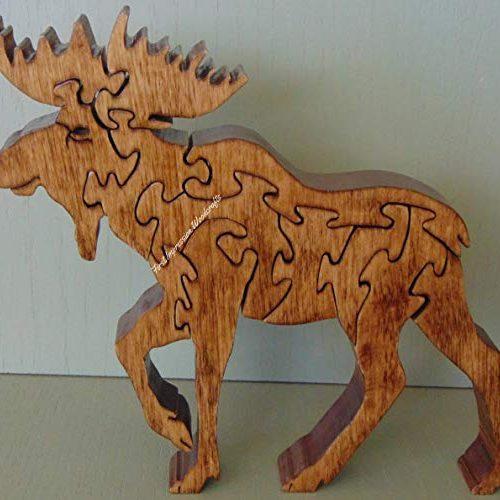 Moose hardwood puzzle