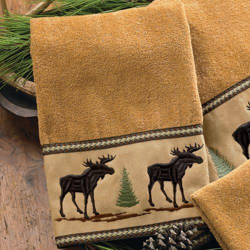 Moose & Pine hand towel
