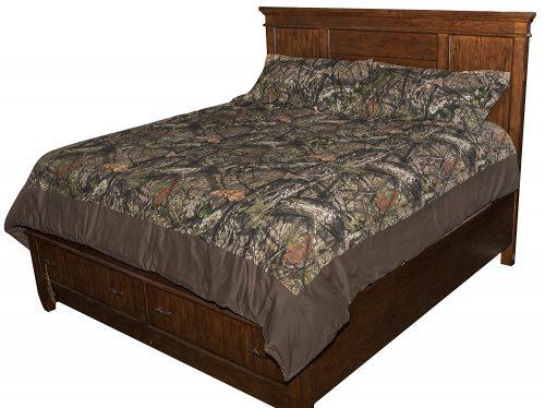Mossy Oak breakup pattern comforter