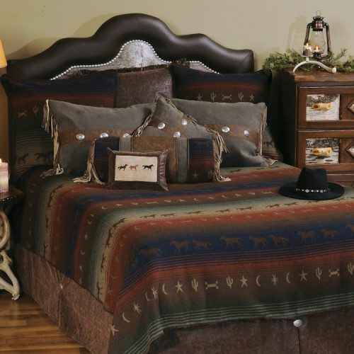 Mustang Canyon western bedding collection