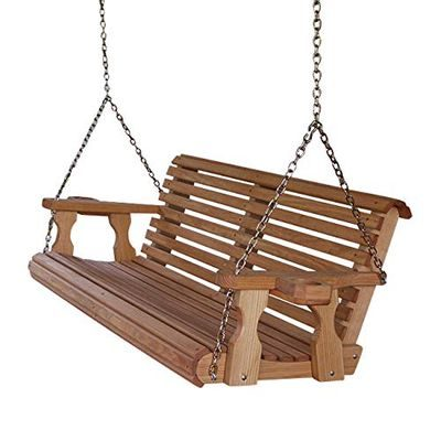 Porch swing with chains