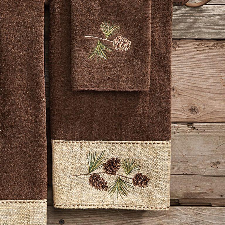 Pine Haven hand towel
