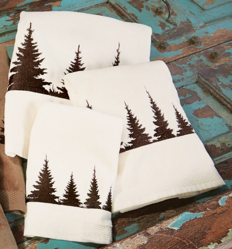 Pinewood Forest towel set
