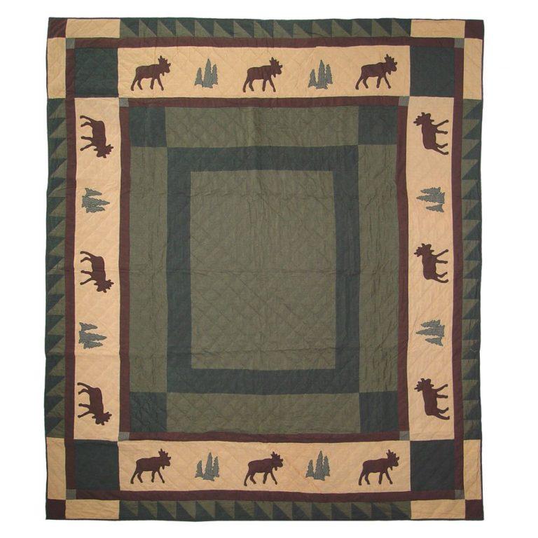 Patch Magic queen cedar trail quilt