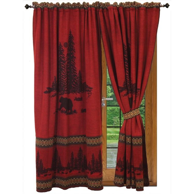 River Bear drapes
