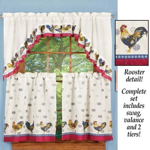 Rooster complete kitchen tiers