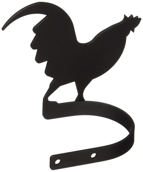 Rooster curtain tie-backs