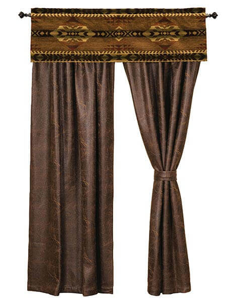 Stampede western drapes and valance
