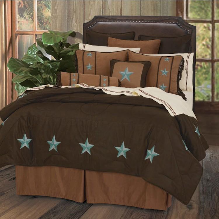 Turquoise Star Laredo Comforter Set