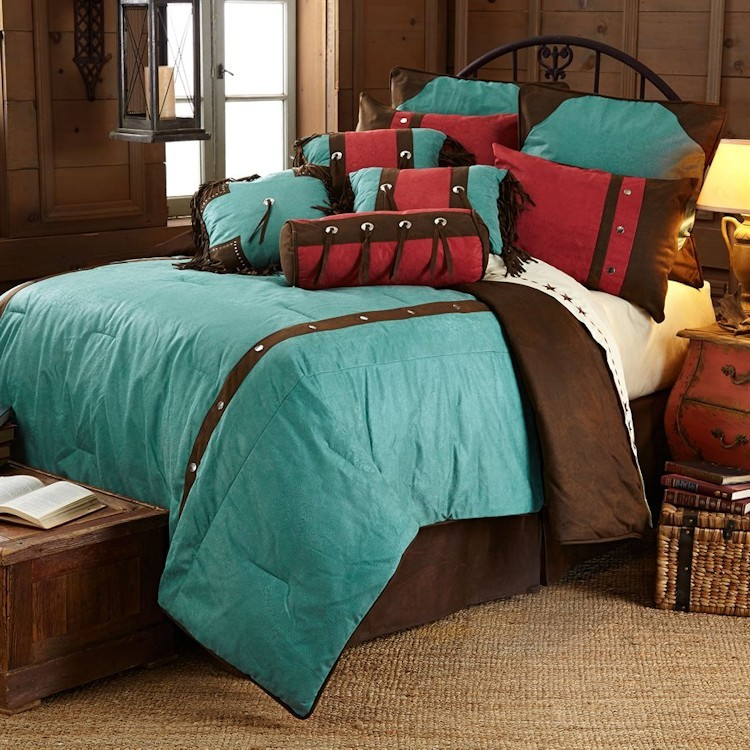 Cheyenne Turquoise comforter