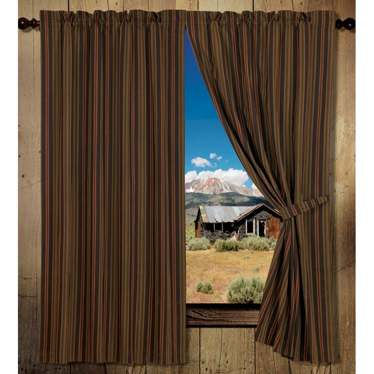 Wilderness stripes drapes