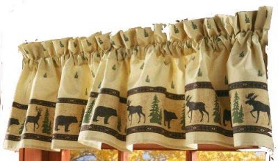 Woodland Silhouette valance