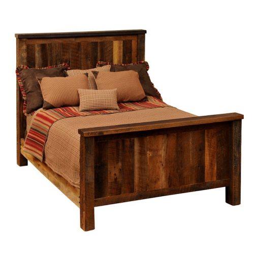 Wrangler barnwood bed