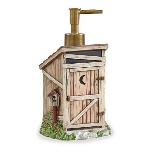Outhouse lotion dispenser