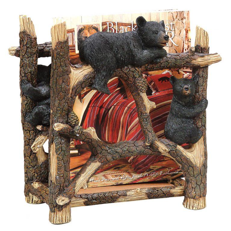 Black bear magazine rack