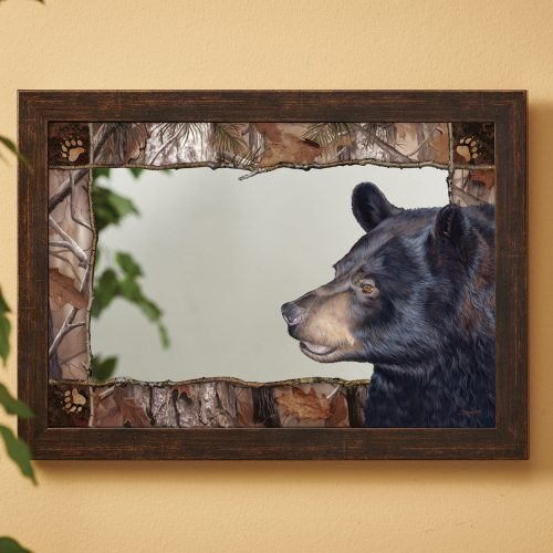 Black Bear Forest mirror