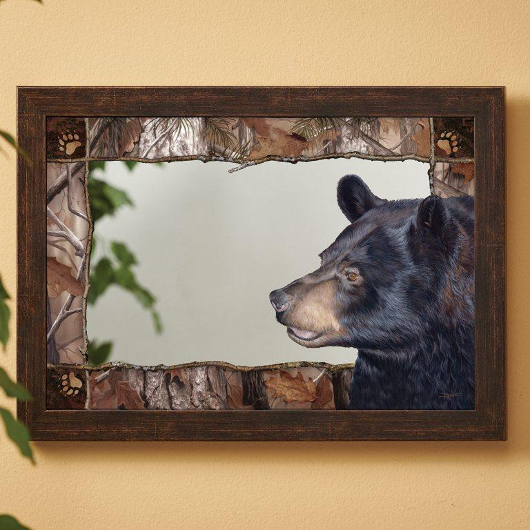 Black Bear Forest mirror