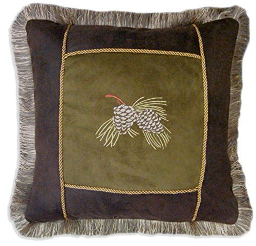 Carstens pine cone pillow
