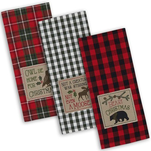 Christmas holiday kitchen towels